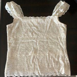 100% polyester , beautiful lace t